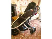 Phil &a Ted vibe double twin pram stroller