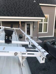 Cargo van ladder rack