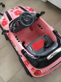 Electric car for kids ride also with wireless controller