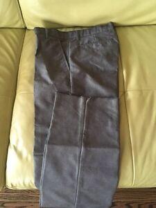 Grey dress pants and shirts for boys