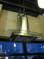 NEW 30/36/48 inch RANGE HOODS STAINLESS STEEL &GLASS