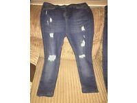 Hera London jeans size 32 waist small leg