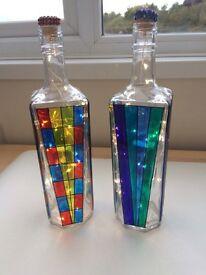 Unique Handmade Bottle Lamps