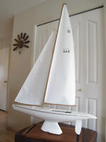 Australia II KA 6 Sail Boat Model Boat Motorized