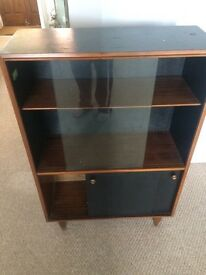 Drinks and glasses cabinet