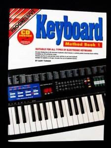 Keyboard Method Book 1 & CD - Gary Turner [Progressive] Loganholme Logan Area Preview