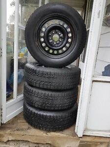 Winter Tire Set - 85% Tread