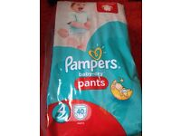 Pampers size 4 40 nappies