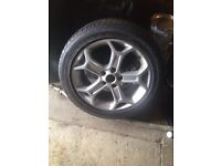 Ford mondeo alloy with good tyre 234/45/17