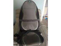 Shiatsu massager chair, cushion