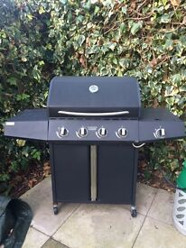Gas Barbecue with Canisters