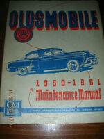 1950-51 Oldsmobile Maintenance Manual