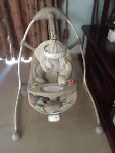 Bright Stars Cradle &Sway 7078-ES Excellent Condition East Cannington Canning Area Preview