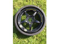 Spare wheel for Mercedes C class