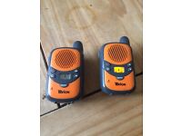 tevion binatone Walkie talkies