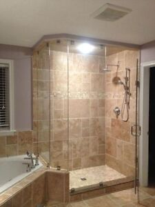 Frameless Shower Glass Doors Enclosures bathtubs - Mirrors etc. Cambridge Kitchener Area image 5