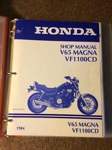 V65 Magna Shop Manual London Ontario image 1