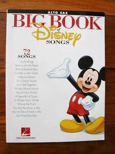 Alto Sax - Big Book Of Disney Songs [Hal Leonard] Loganholme Logan Area Preview