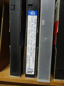 Solid Wood VHS Tape Cases W/ VHS Tapes with over 74 Great Movies Kitchener / Waterloo Kitchener Area image 9