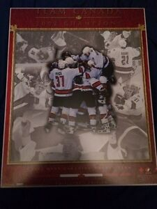 2002 team Canada Olympic Gold Championship wall picture  St. John's Newfoundland image 1