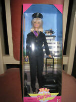 PILOT BARBIE  1999, MIB