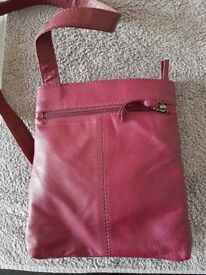 Women's cross body leather bag from Next
