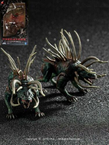 Hiya Toys Predators Predator Hound 1:18 Inch Scale Action Figure 2 Pack New