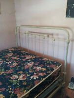 Double Antique Bed Frame