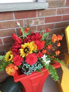 Two beautiful, brand new artificial fall flower arrangements Kitchener / Waterloo Kitchener Area image 2