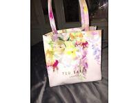 Light pink floral Ted Baker bag