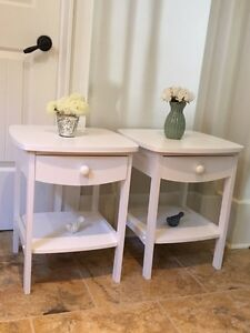 White new nightstands