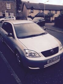 Low mileage good condition Toyota - needs sold