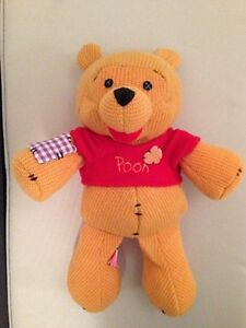 Winnie The Pooh - Knit & Patchwork Design - Brand New