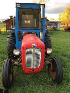 1963 massey 35x with impliments