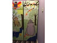 Children's painted upcycled wardrobes
