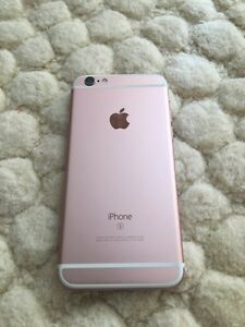 Iphone 6s - Rose gold- 64gb- Rogers/chatr