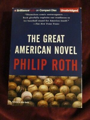 Used, Philip Roth - THE GREAT AMERICAN NOVEL - Unabridged audio for sale  Shipping to India