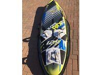 Windsurf kit set JP board sail boom