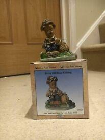 Berry hill bears fishing figurine
