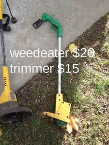 electric weed wacker and trimmer