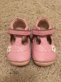 Clarks First Walker Shoes - size 3