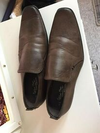 Mens Brown Shoes Size 7