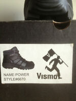 VISMO Safety Work Boots BNIB $70 obo