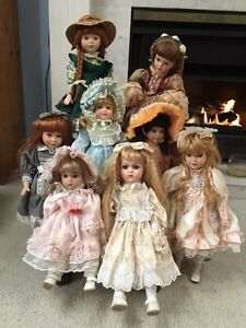 Beautiful Porcelain Dolls  Downtown-West End Greater Vancouver Area image 1