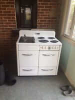 Wood/Electric Stove