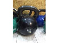 50kg kettlebell brand new!!! Kettle bell gym