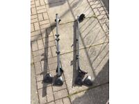 Exodus roof bars and cycle carriers corsa