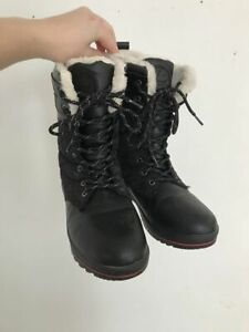 Black Winter Boots size 9