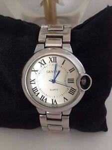Ladies Watch Silver Large Face Working Battery Sandford Clarence Area Preview