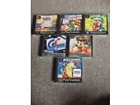 Mixed complete ps1 games all mint.